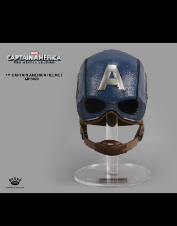 1/1 Captain America Helmet - King Arts