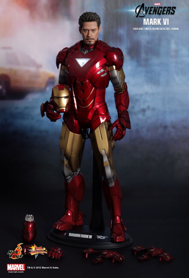 Iron Man Mark 3000 ~ Iron man mark vi the avengers limited edition