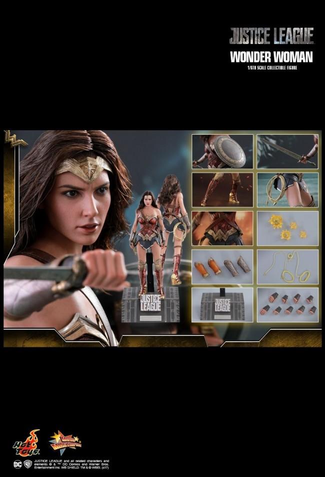 wonder woman justice league gal gadot mms450 dc