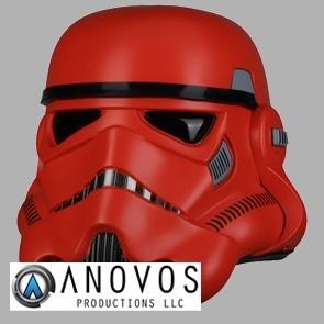 1:1 Crimson Stormtrooper Helm - Anovos