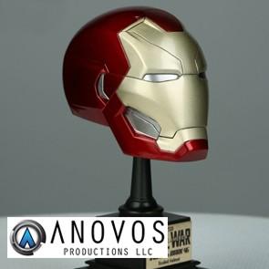 1:3 Iron Man Mark XLVI Helm - Captain America: Civil War (Anovos)