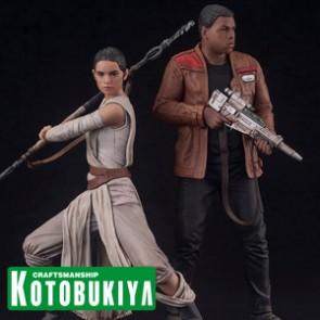 1/10th Rey & Finn - Doppelpack - ARTFX+ Series - Kotobukiya