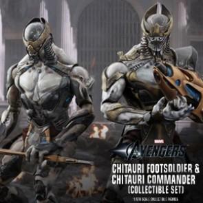 Chitauri Footsoldier and Chitauri Commander