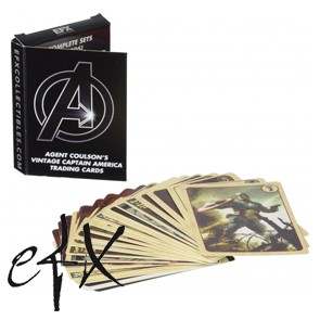 Agent Coulson's Cap Trading Cards Set - EFX