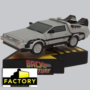 Delorean Time Machine Shakems Premium Motion Statue - Wackelfigur