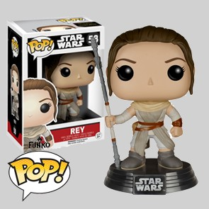 Rey - Star Wars The Force Awakens - Funko POP