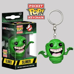 Slimer - Ghostbusters - Keychain