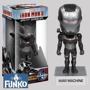 War Machine - Iron Man 3 - Wacky Wobbler