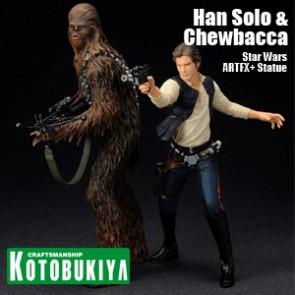 Han Solo & Chewbacca - Star Wars (ARTFX+ Series)