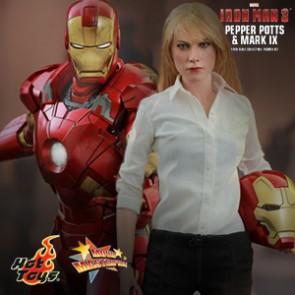 Pepper Potts & Mark IX - Iron Man 3 - Hot Toys