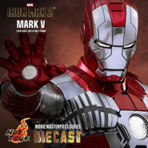 Iron Man Mark V - Iron Man 2 - DIECAST - Hot Toys