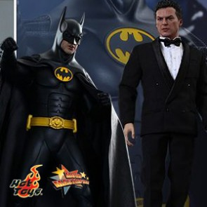 Batman & Bruce Wayne - Batman Returns Hot Toys