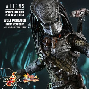 Wolf Predator (Heavy Weaponry) Aliens vs. Predator: Requiem - Hot Toys