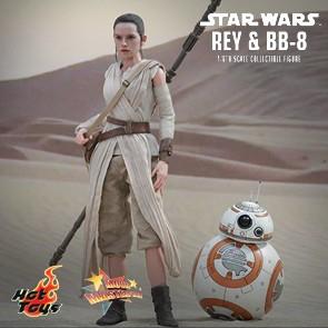 Rey und BB-8 - Star Wars: The Force Awakens