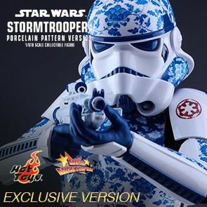Stormtrooper - Porcelain Pattern Version - Hot Toys