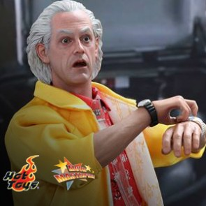 Dr. Emmett Brown - Back to The Future Part II - Hot Toys