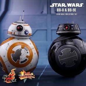1/6th BB-8 & BB-9E - Star Wars: The Last Jedi - Hot Toys