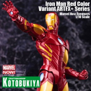 Iron Man Red Color Variant - ARTFX+ Series