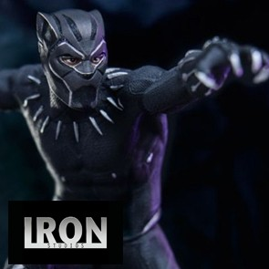 1/10th Black Panther - Battle Diorama Series Statue - Iron Studios
