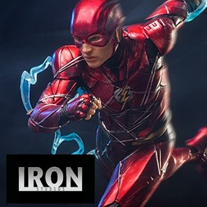 1/10th The Flash - Justice League - Iron Studios