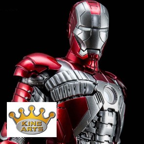 1/9 Iron Man Mark V - Diecast - King Arts