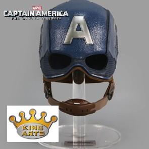 1/1 Captain America Helmet - King Arts