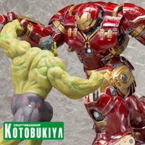 Hulk & Hulkbuster - Avengers II - Artfx+Statue