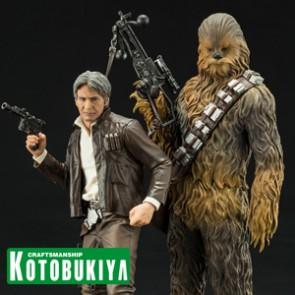 1/10th Han Solo & Chewbacca - ARTFX+ Statuen - Kotobukiya