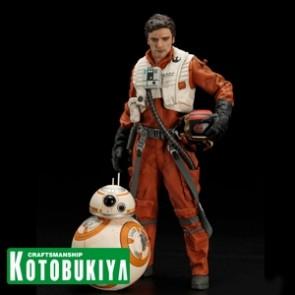 1/10 Poe Dameron & BB-8 - ARTFX+ Statue - Kotobukiya
