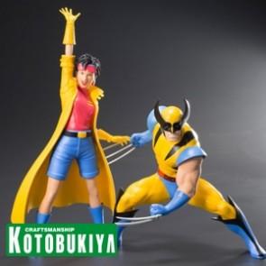 Wolverine & Jubilee - X-Men '92 - ArtFX+Statuen - Kotobukiya
