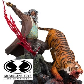 Ezekiel & Shiva - The Walking Dead - Statue - McFarlane Toys