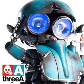 Sqweeks Autobot - Transformers 5 - The last Knight - threeA