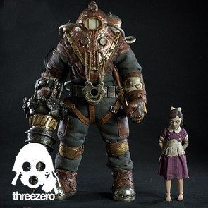 Subject Delta & Little Sister - Bioshock 2 - Threezero