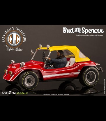 Infinite - Bud Spencer on Dune Buggy - Statue 1:18 Cars Legacy Collection