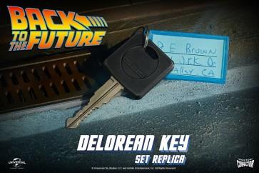 Doctor Collector - DeLorean Autoschlüssel - Zurück in die Zukunft - 1/1 Replik