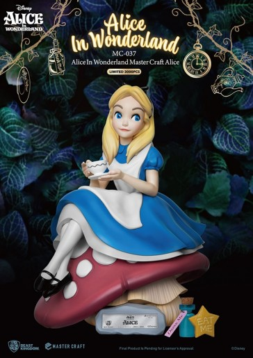 Beast Kingdom - Alice In Wonderland - Mastercraft Staue
