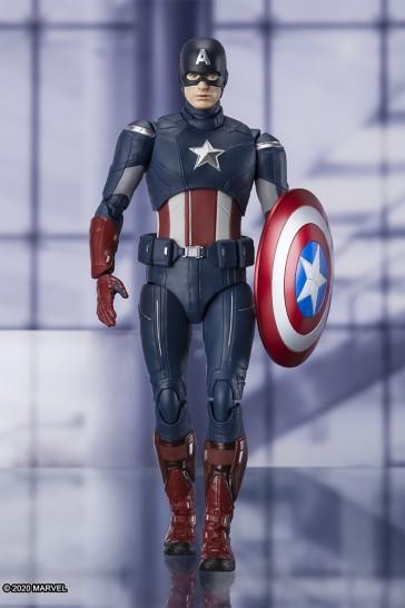 Bandai - S.H. Figuarts - Captain America - Cap vs. Cap Edition - Avengers Endgame