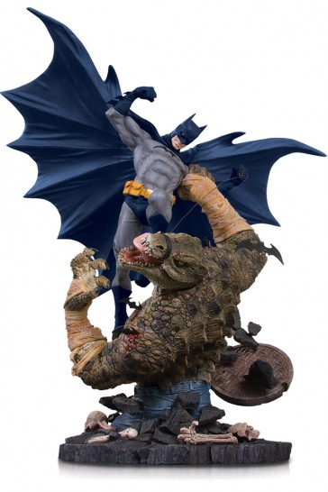 DC Collectibles - Batman vs. Killer Croc - Mini Battle Statue