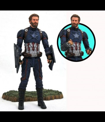 Diamond Select - Captain Amerioca - Infinity War - Actionfiguren