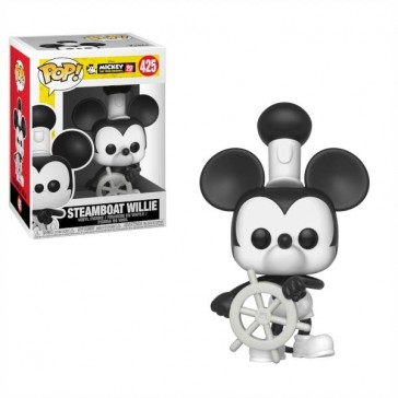 Funko Pop - Steamboat Steamboat Willie - Mikey's 90TH - Vinylfigur - 425