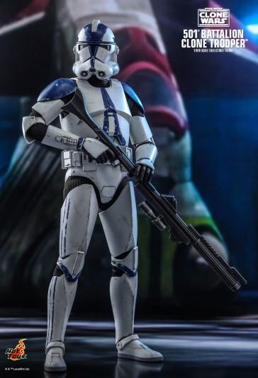 Hot Toys - 501st Battalion Clone Trooper - Star Wars: The Clone Wars