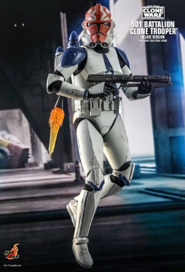 Hot Toys - 501st Battalion Clone Trooper - Deluxe Version - Star Wars: The Clone Wars