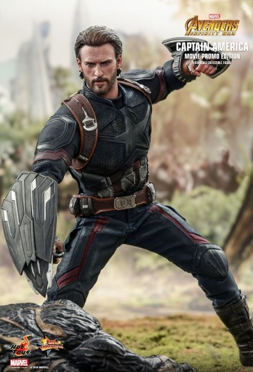 Hot Toys - Capatin America Movie Promo Edition - Avengers - Infinity War