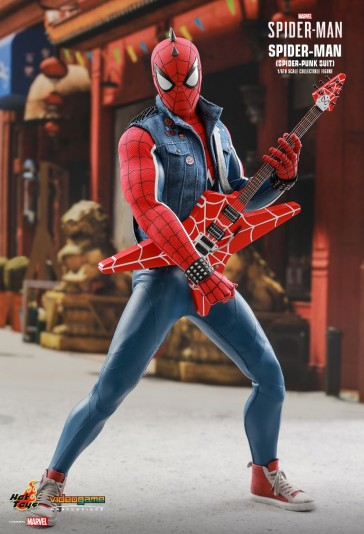 Hot Toys - Spider-Man - Spider-Punk Suit - PS4 Videogame