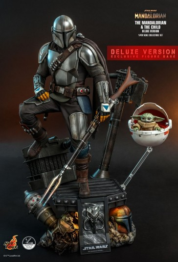 Hot Toys - The Mandalorian & The Child - Quarter Scale - Deluxe Set