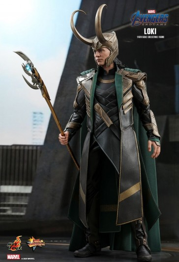 Hot Toys - Loki - Avengers: Endgame - Tom Hiddleston