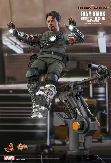 Hot Toys - Tony Stark - Mech Test Deluxe Version - Iron Man