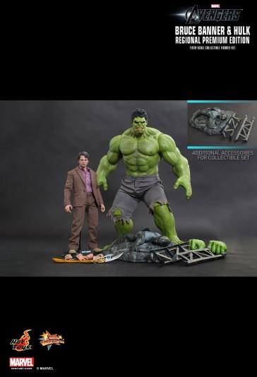 Hot Toys - Bruce Banner and Hulk -The Avengers