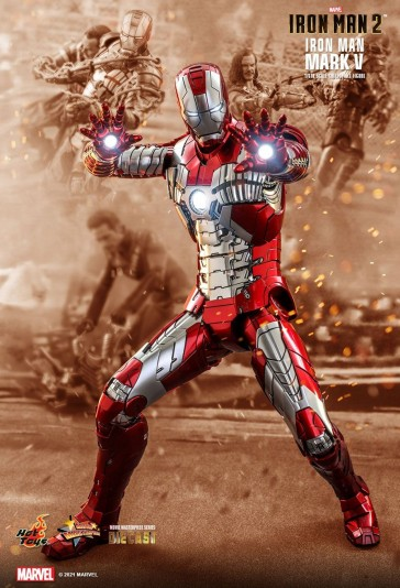 Hot Toys - Iron Man 2 - Mark V - Diecast