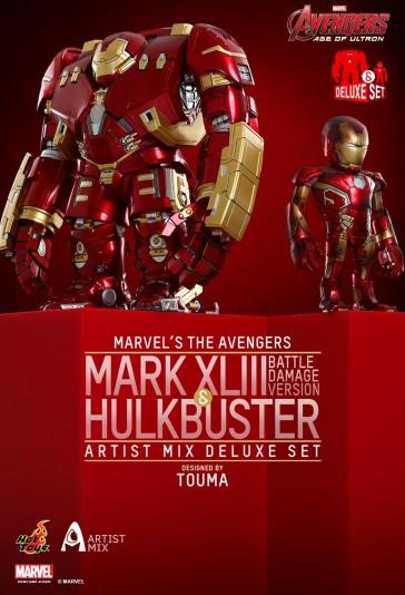 Mark XLIII Battle Damaged & Hulkbuster - Artist Mix